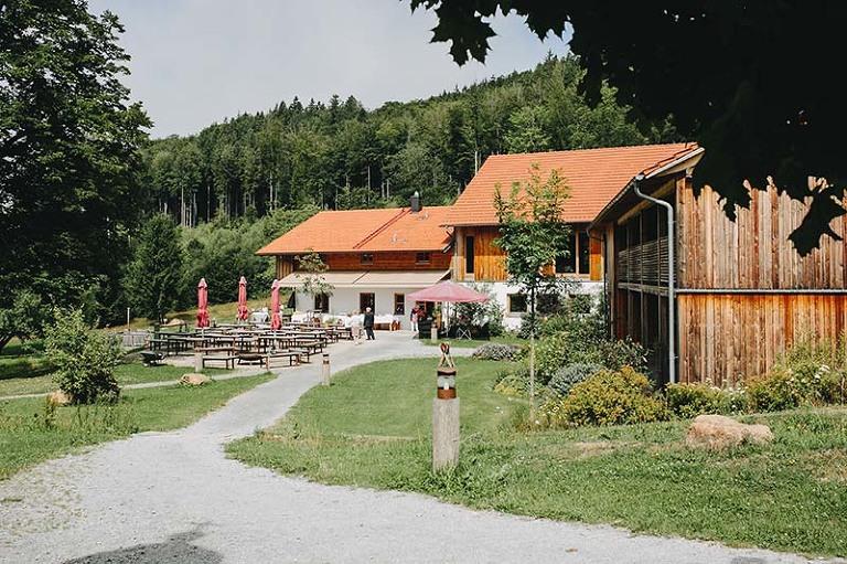 Gutsalm Harlachberg Hochzeitslocation Bayerischer Wald